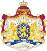 Leeuw in koninklijk wapen van Nederland